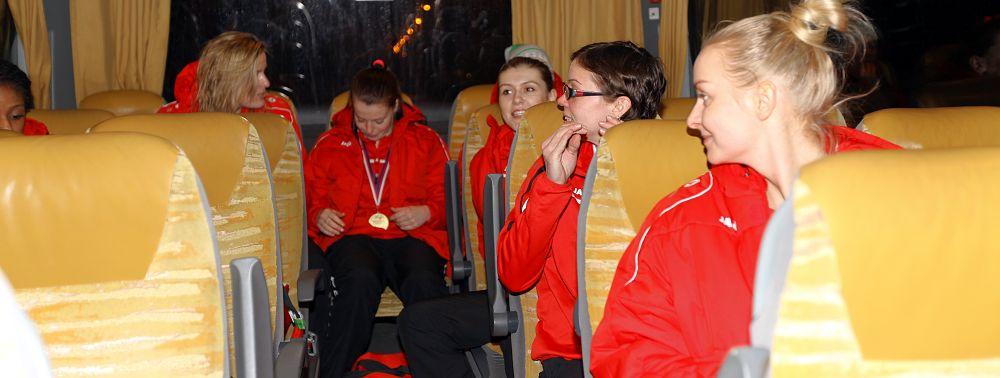 V autobuse cestou z Varů