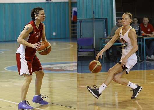 Veronika Bortelová a Kateřina Bartoňová